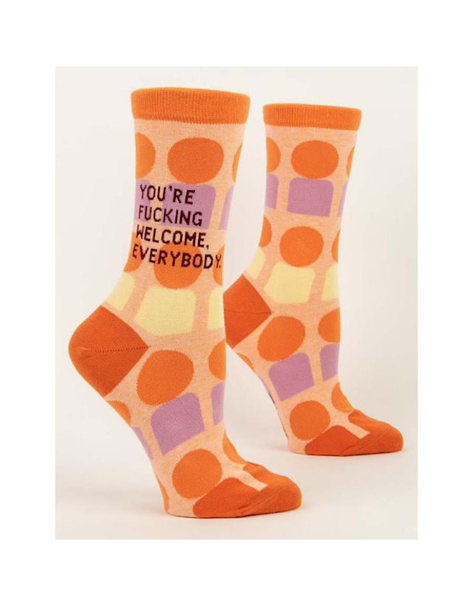 Socks (Womens) - You're Fucking Welcome Everybody