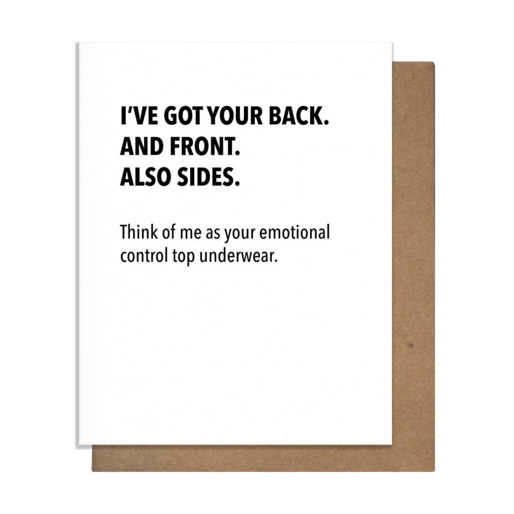 Pretty Alright Goods Card - Emotional Control Top Underwear