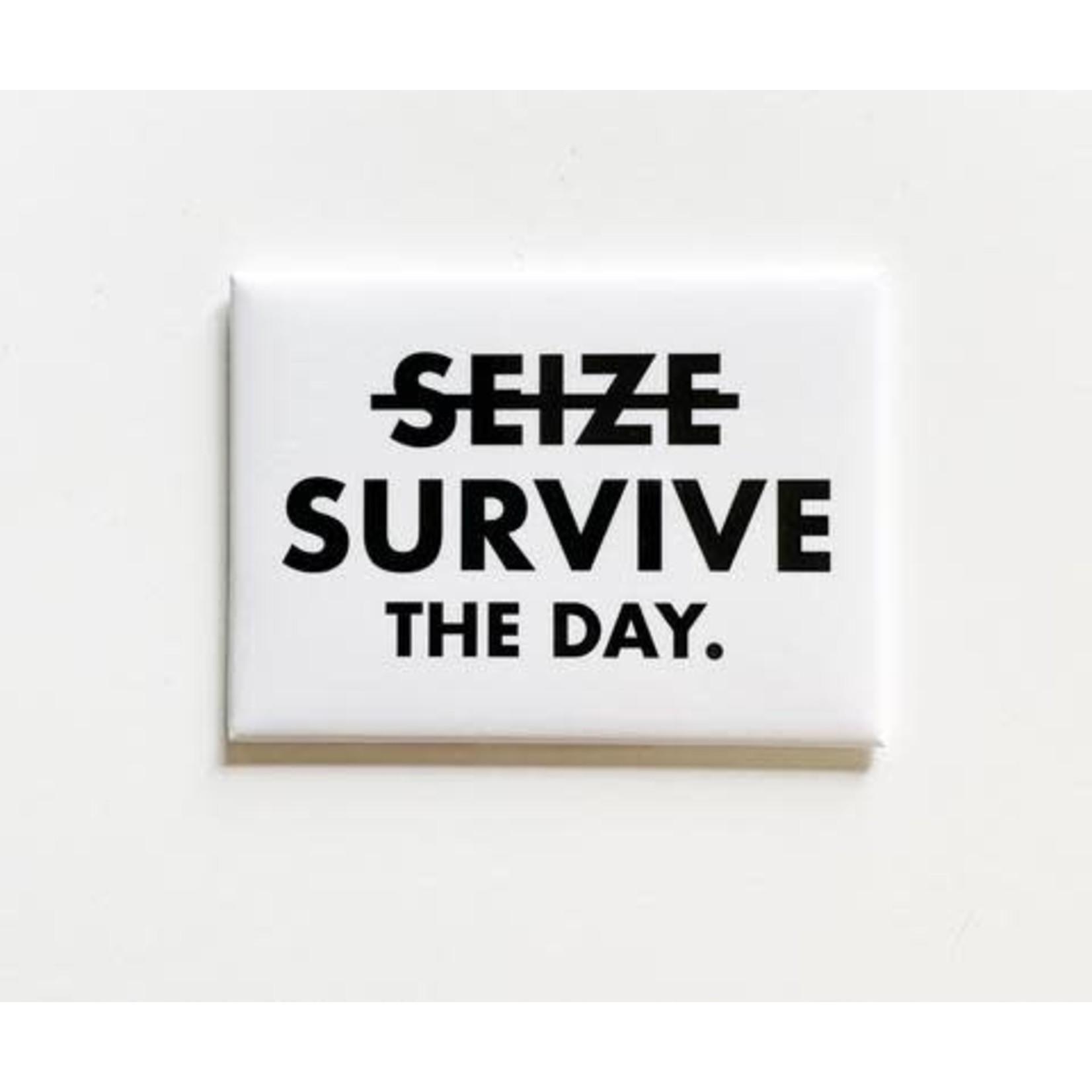 Pretty Alright Goods Sticker - Seize / Survive The Day
