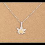 Necklace - Pot Leaf