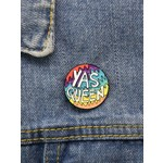 Pin - Yas Queen Rainbow