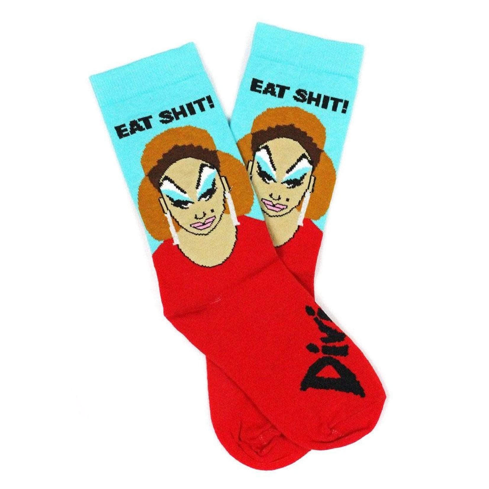 Socks (Unisex) - Eat Shit - Divine