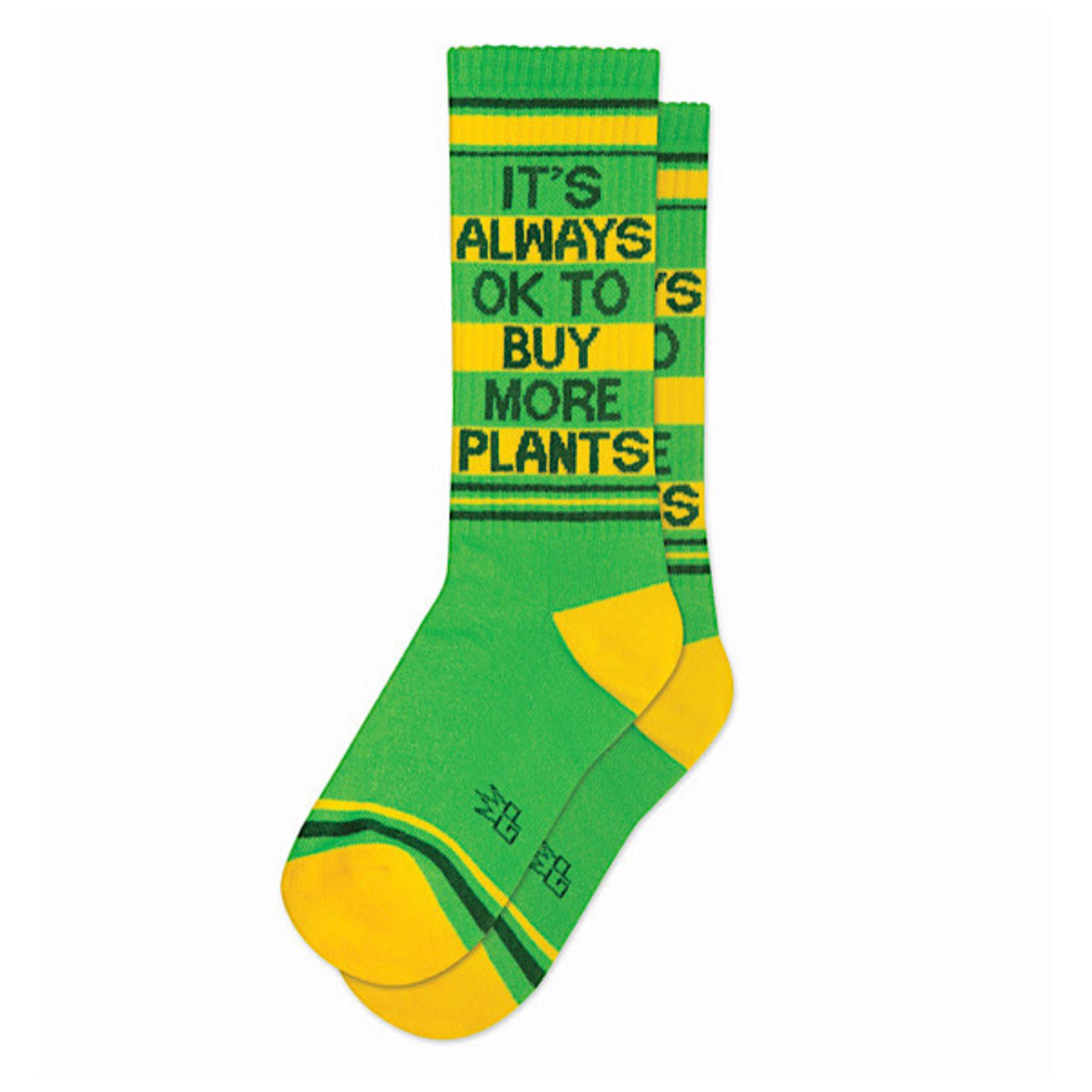 Socks (Unisex) - It's Always Ok To Buy More Plants