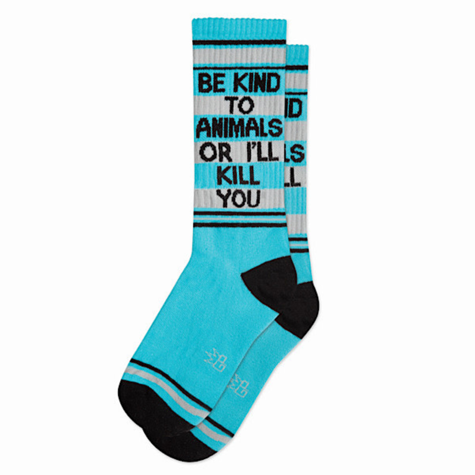 Socks (Unisex) - Be Kind To Animals Or I'll Kill You