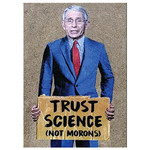 Magnet - Trust Science Not Morons (Dr. Fauci)