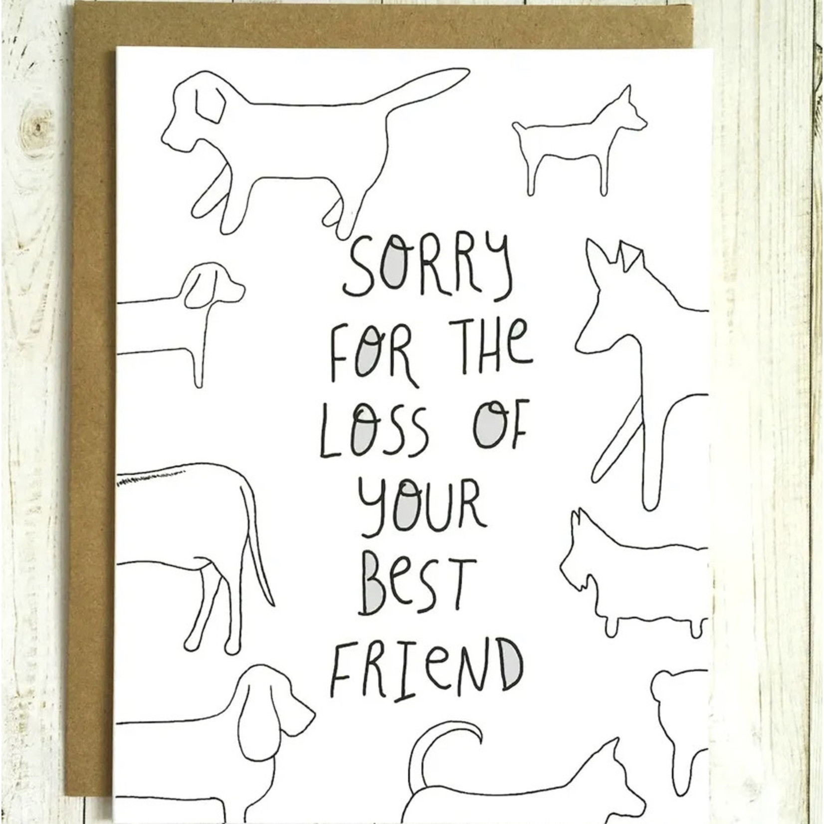 Card - Sorry For The Loss Of Your Best Friend