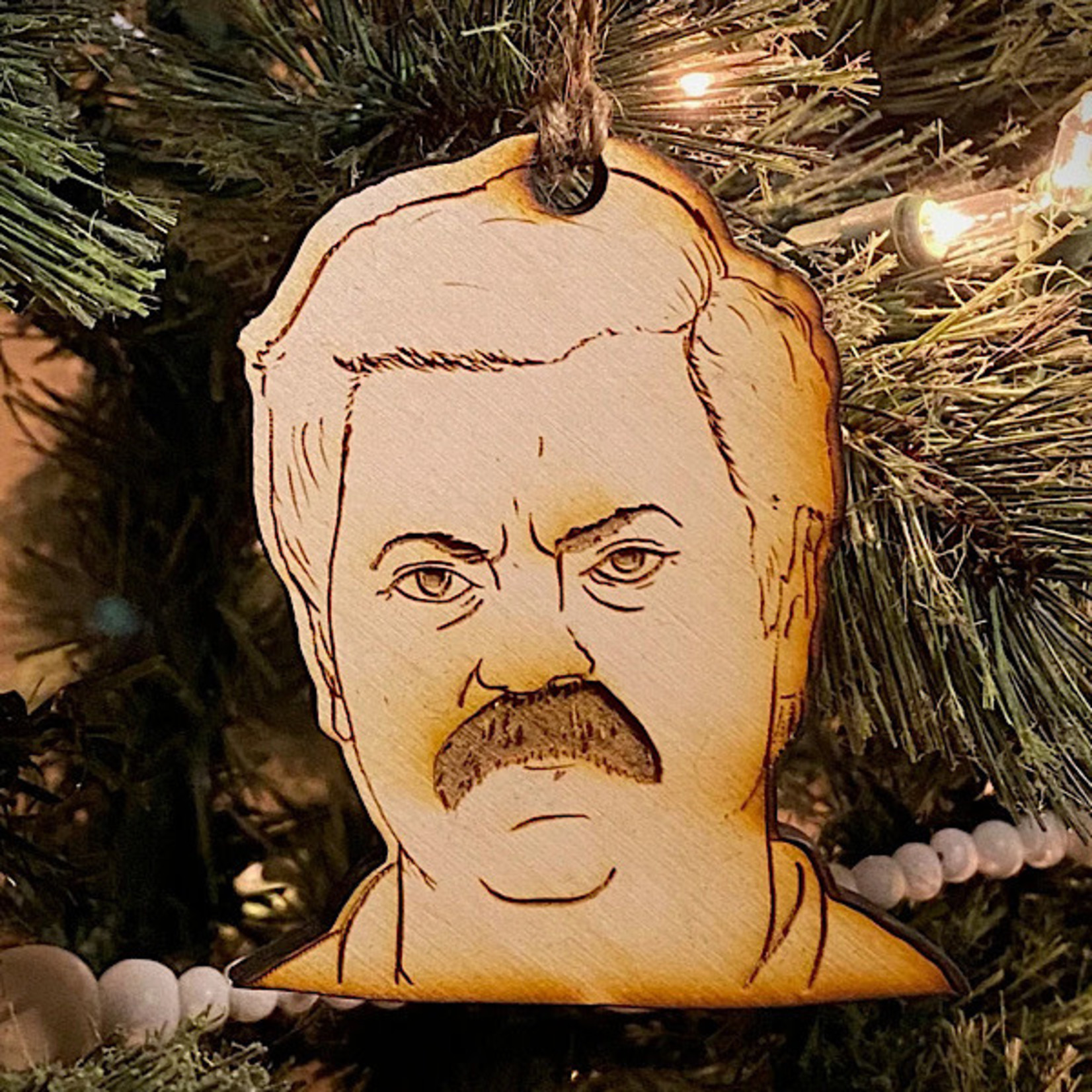 Ornament - Ron Swanson (Parks And Rec)