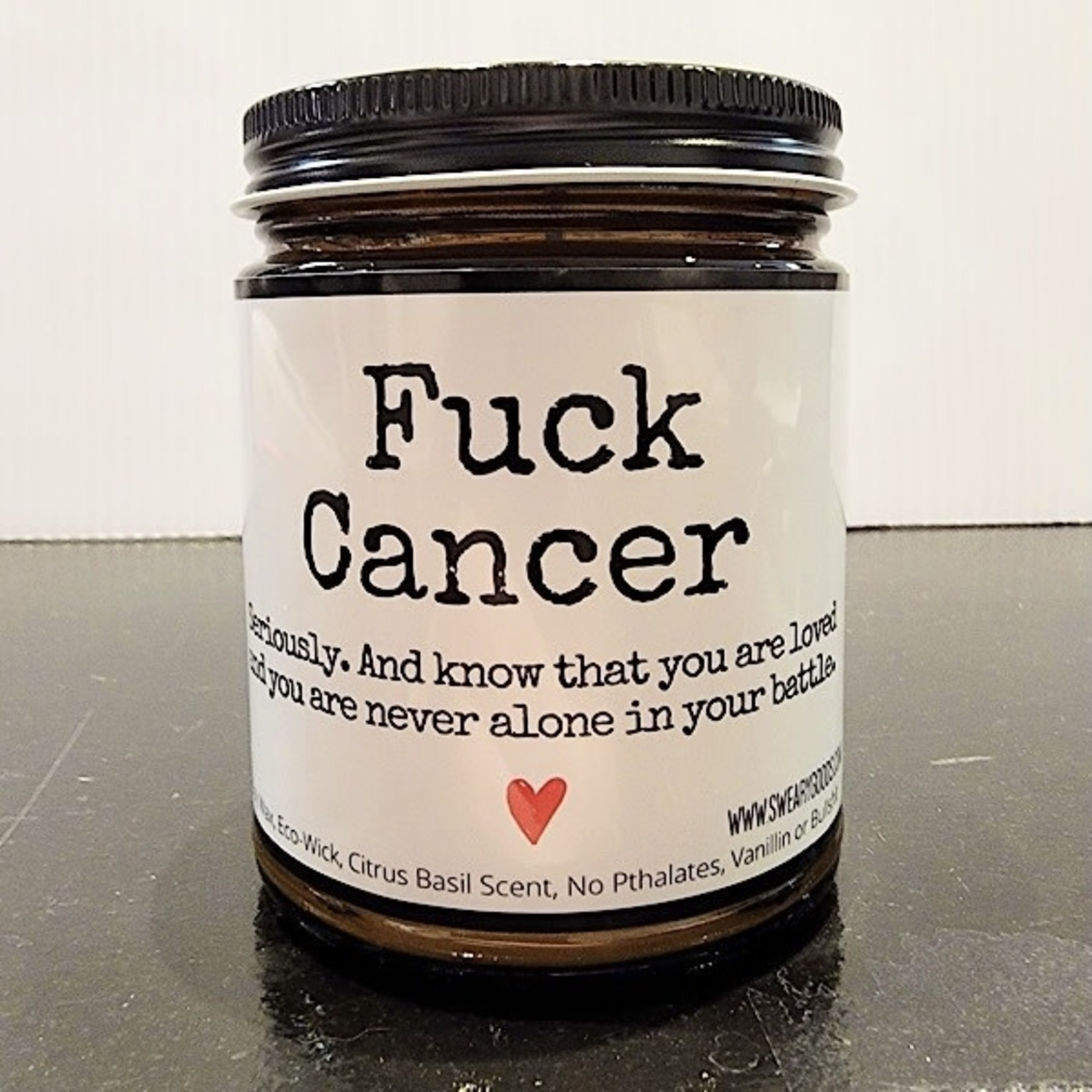 Bad Annie's Candle - Fuck Cancer