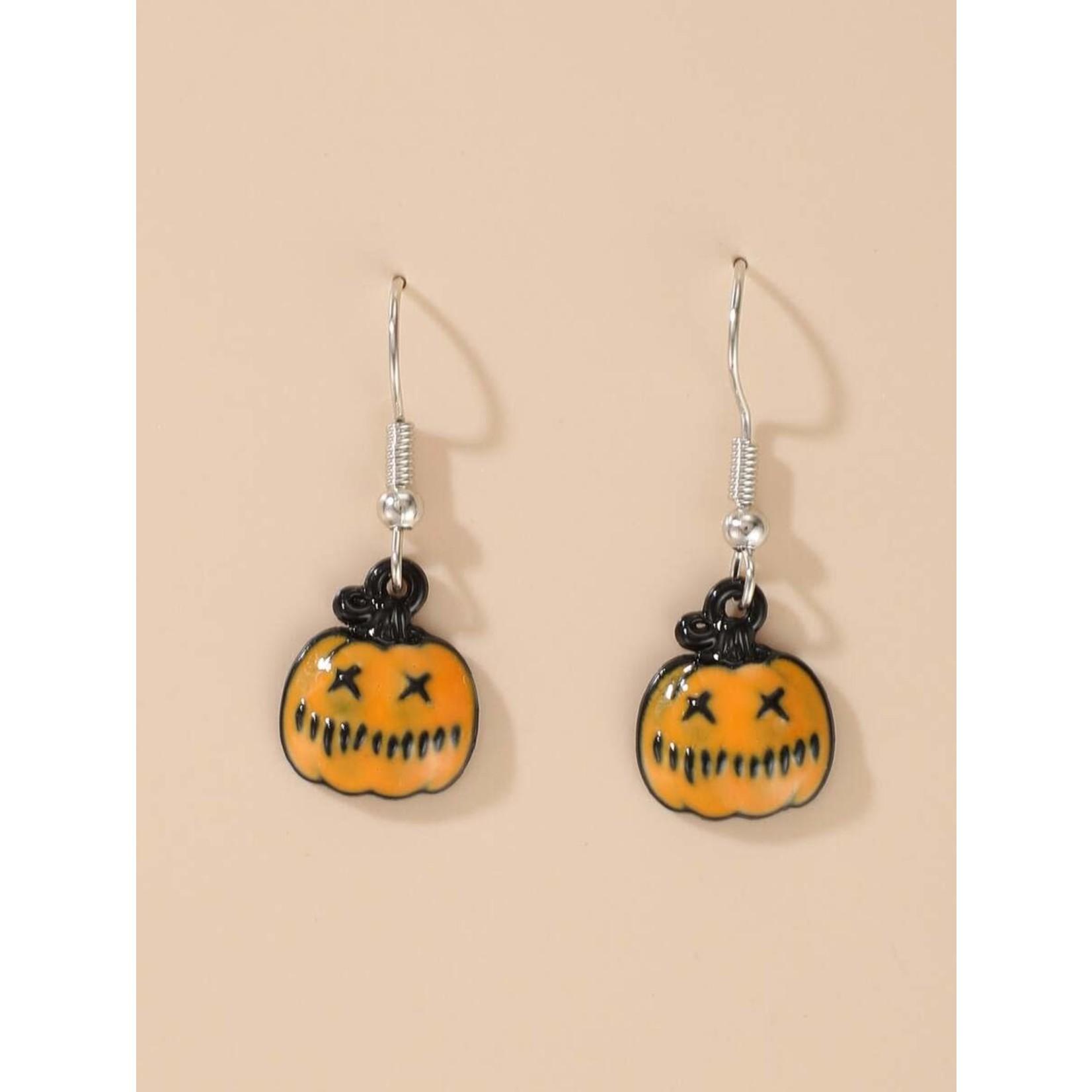 Earrings - Pumpkin