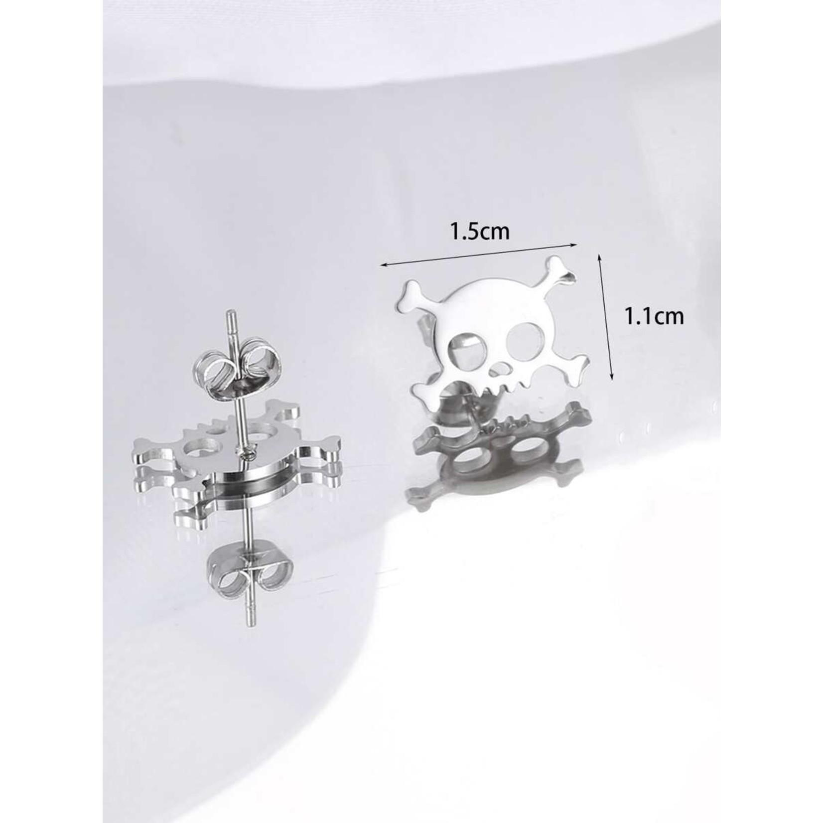 Earrings - Skull And Crossbones