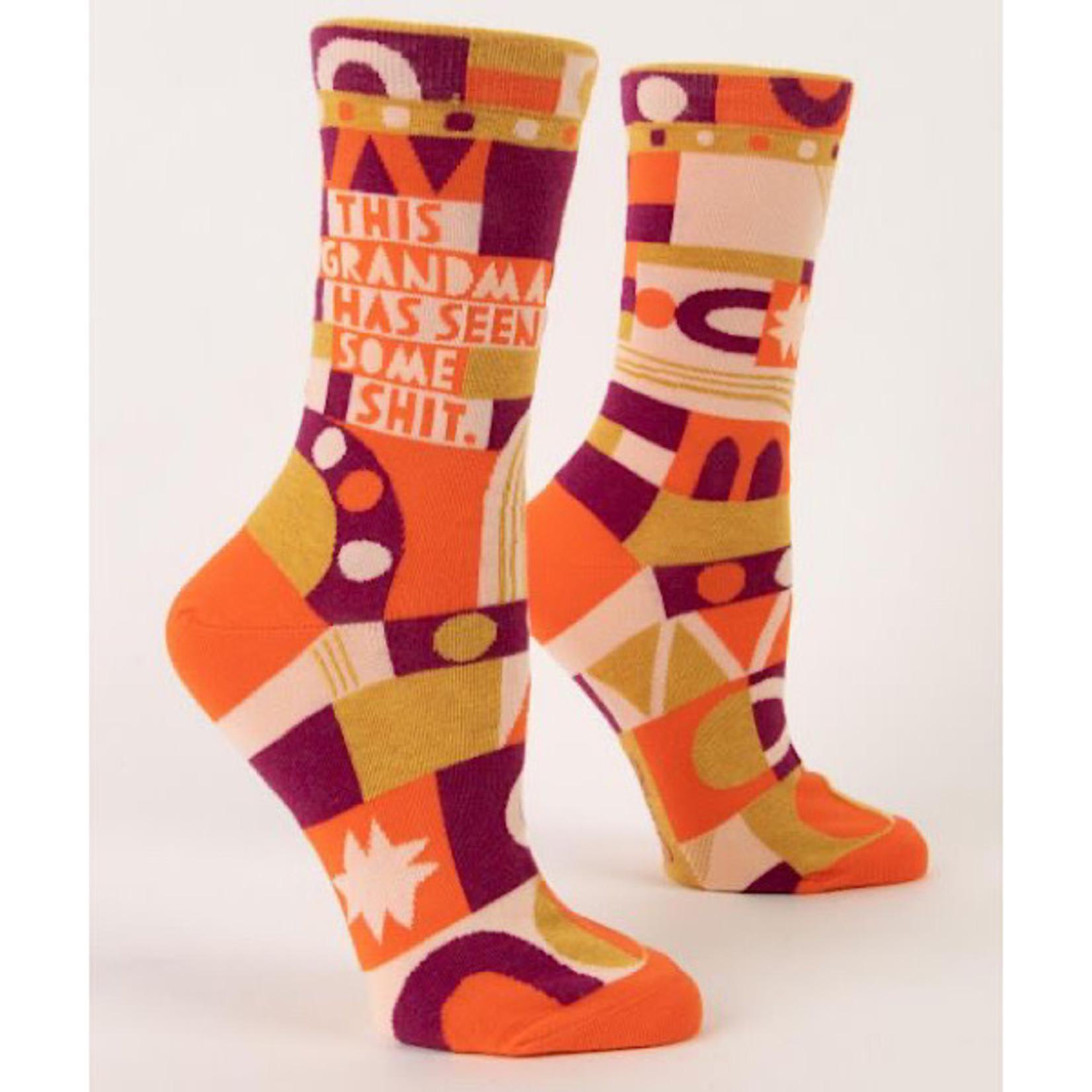 Socks (Womens) - This Grandma Has Seen Some Shit