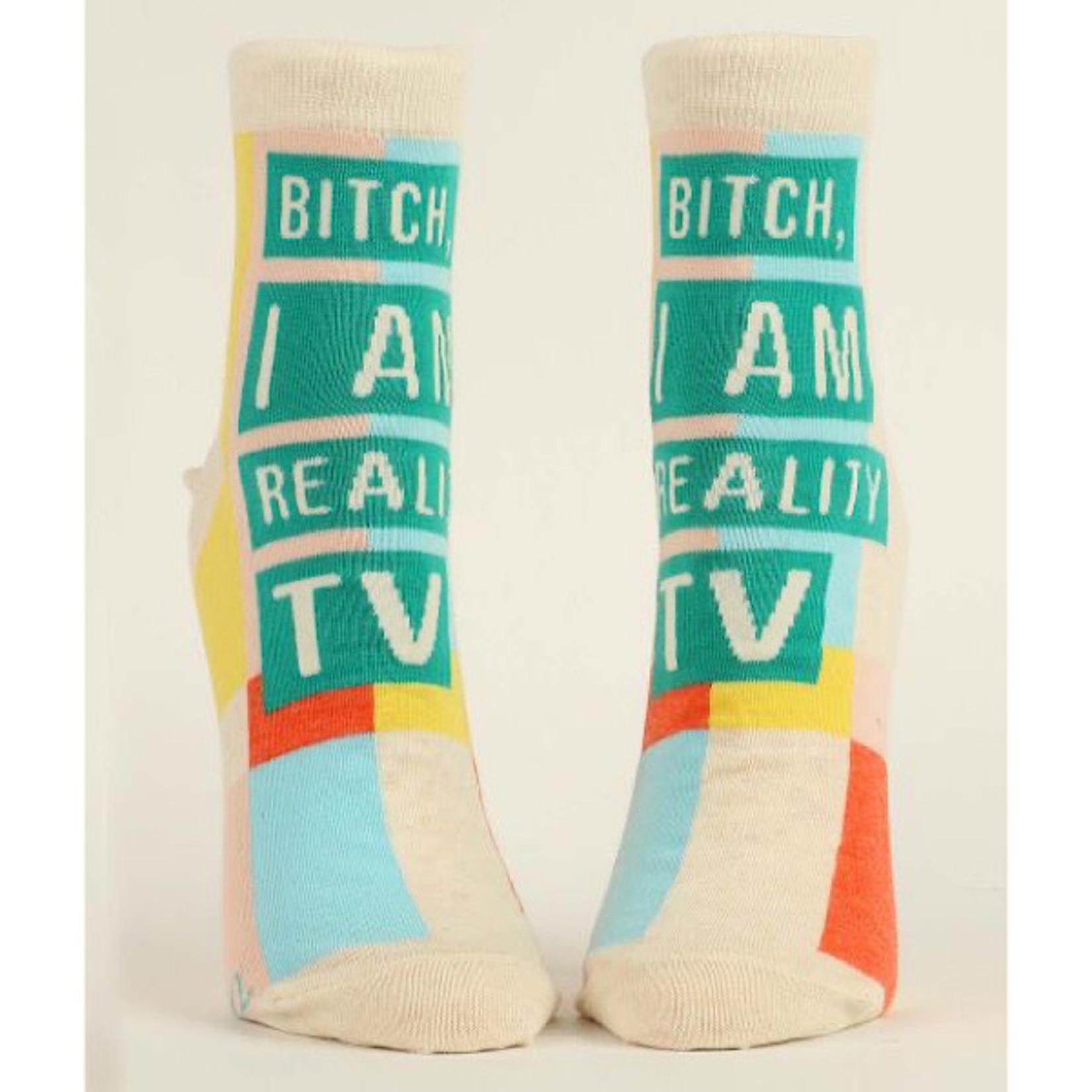 Socks (Womens) (Ankle) - Bitch I Am Reality TV