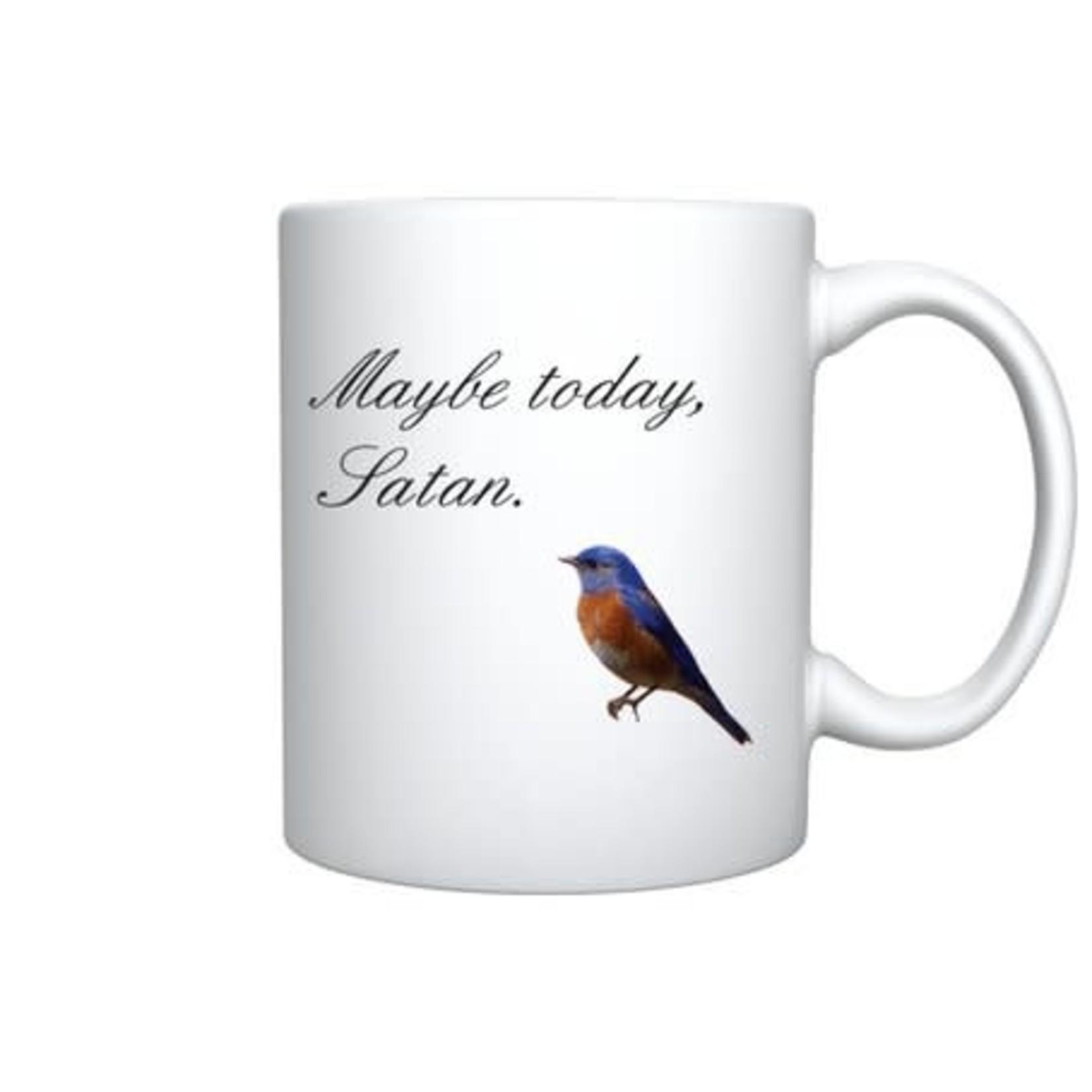 Bad Annie's Mug - Maybe Today Satan / Good Morning Asshat