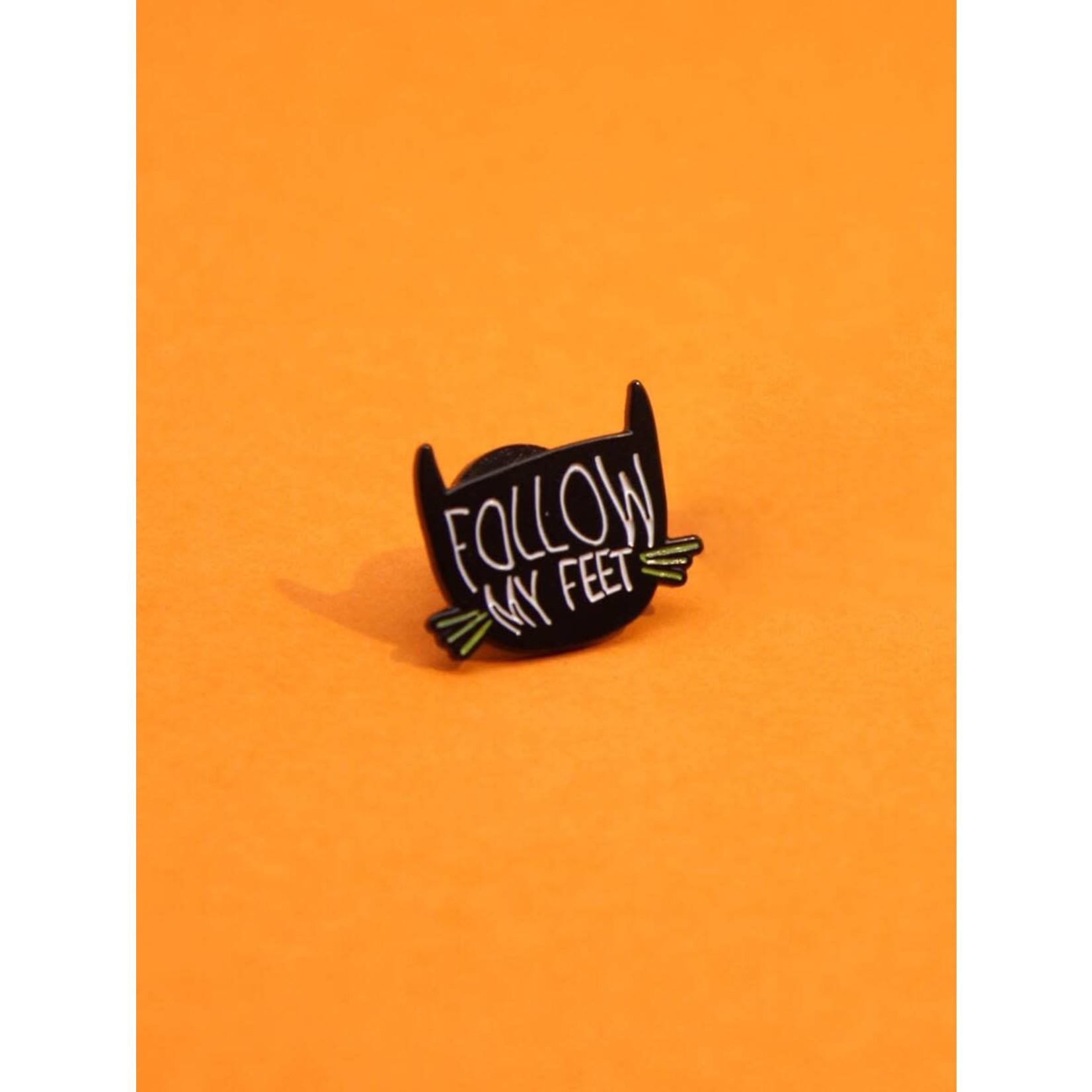 Pin - Cat - Follow My Feet