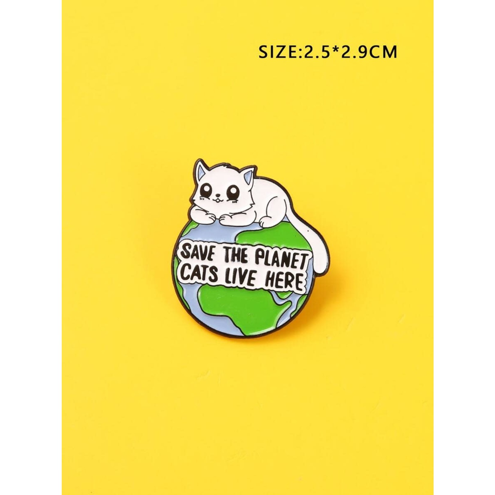 Pin - Save The Planet Cats Live Here
