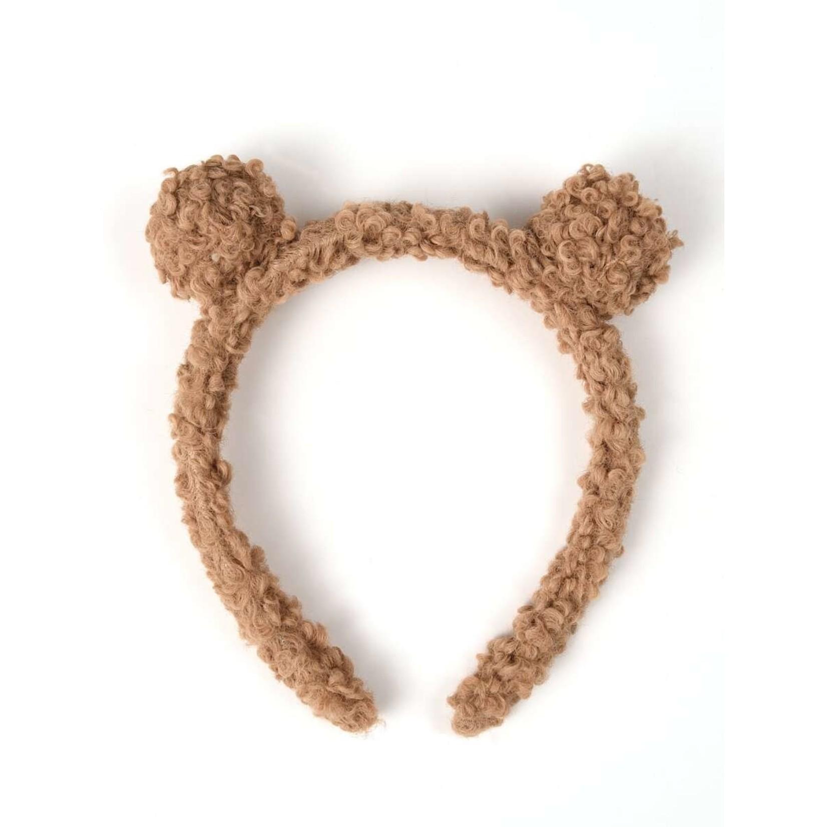 Headband - fuzzy bear ears