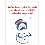 Bad Annie's Card (Holiday) (10 Pack) - We've Been Trying To Reach You About Your Warranty!