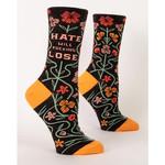 Socks (Womens) - Hate Will Fucking Lose