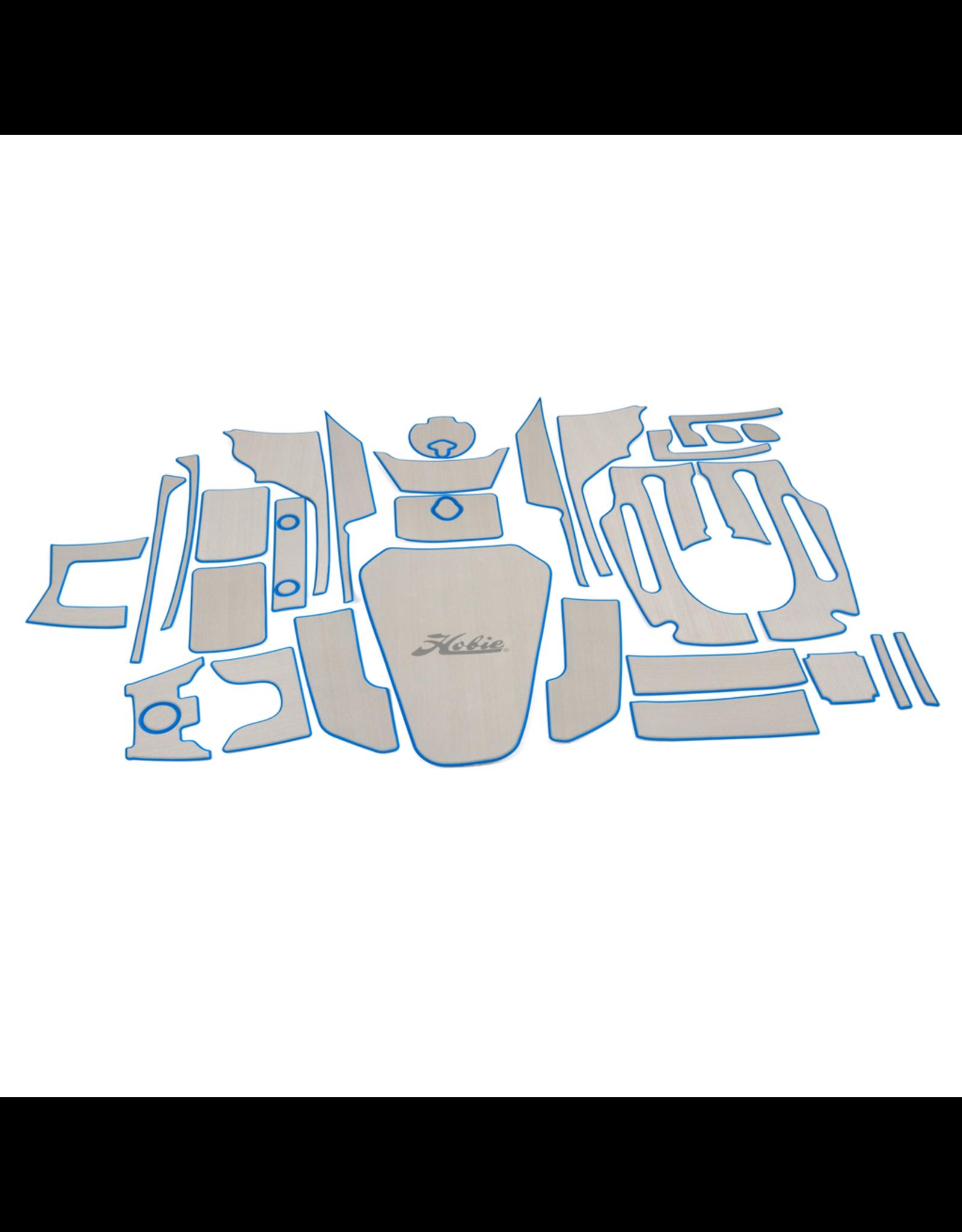 Hobie Hobie Mat Kit for Hobie Pro Angler 14 - Titanium/Blue