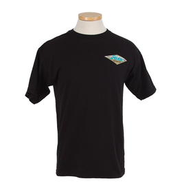 Hobie Hobie Classic Black T-shirt, Short Sleeve, Diamond