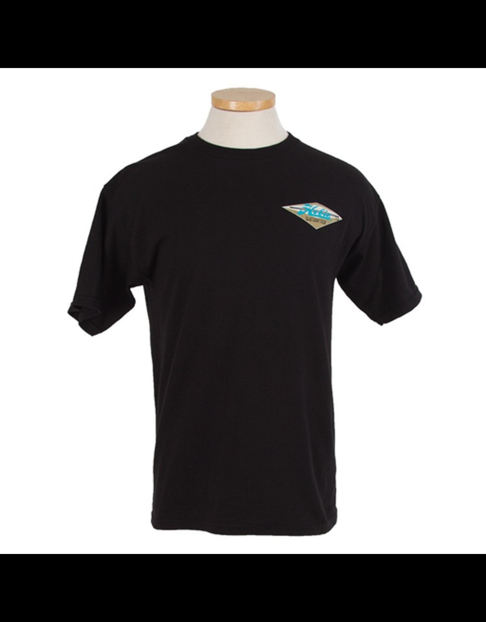 Hobie Hobie Classic Black T-shirt, Short Sleeve, Diamond