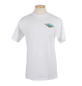 Hobie Hobie Classic White T-shirt, Short Sleeve, Diamond