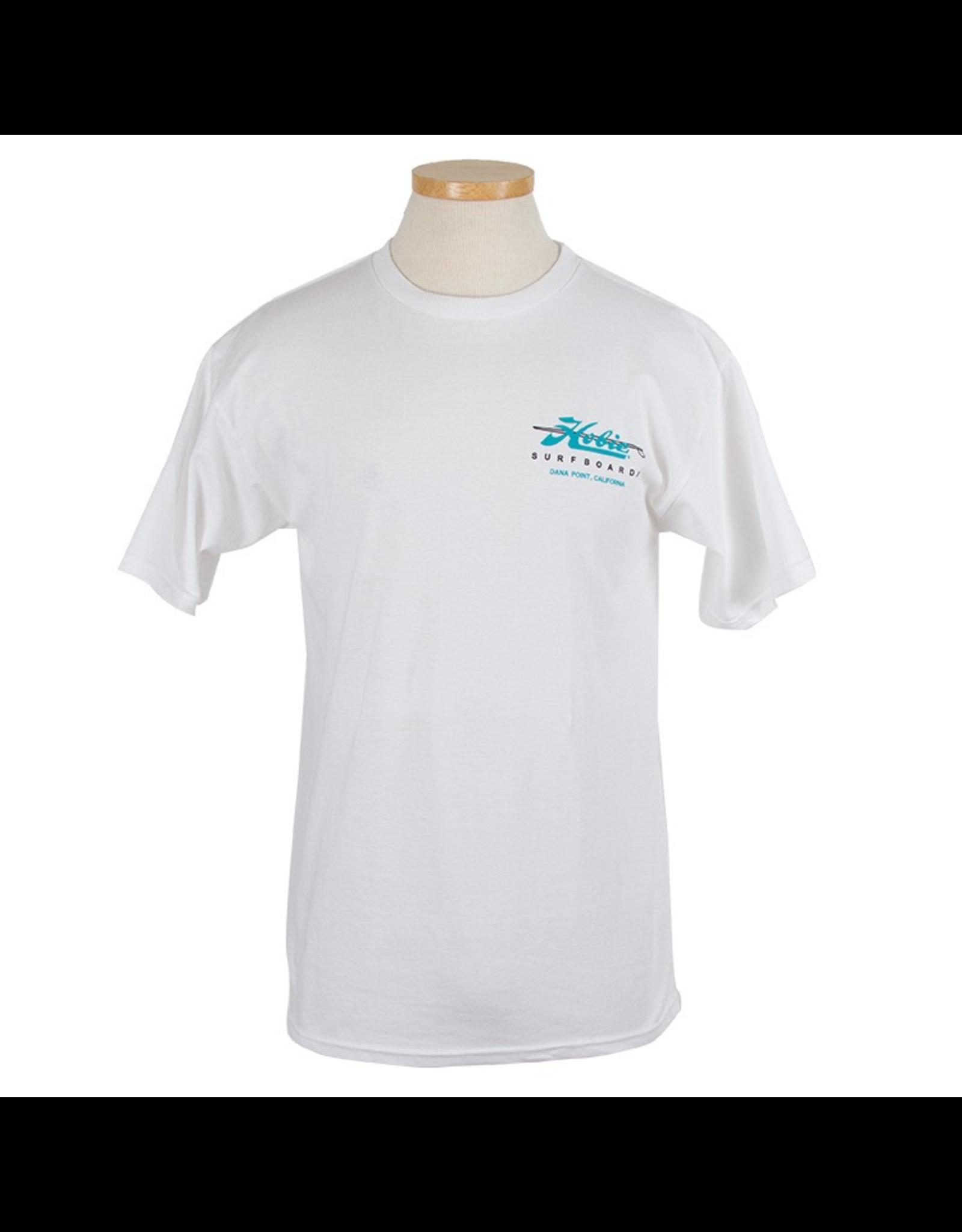 Hobie Hobie Classic White T-shirt, Short Sleeve, Surboards