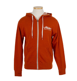 Hobie Hobie Burnt Orange Zip Hoodie, Unisex, Hobie Script Logo