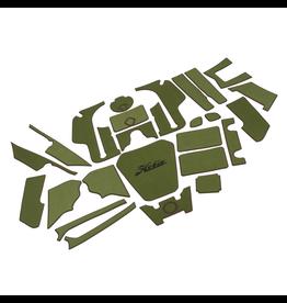 Hobie Hobie Mat Kit for Hobie Pro Angler 12 - Green/Espresso