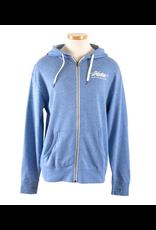 Hobie Hobie Sky Blue Zip Hoodie, Unisex, Hobie Script Logo