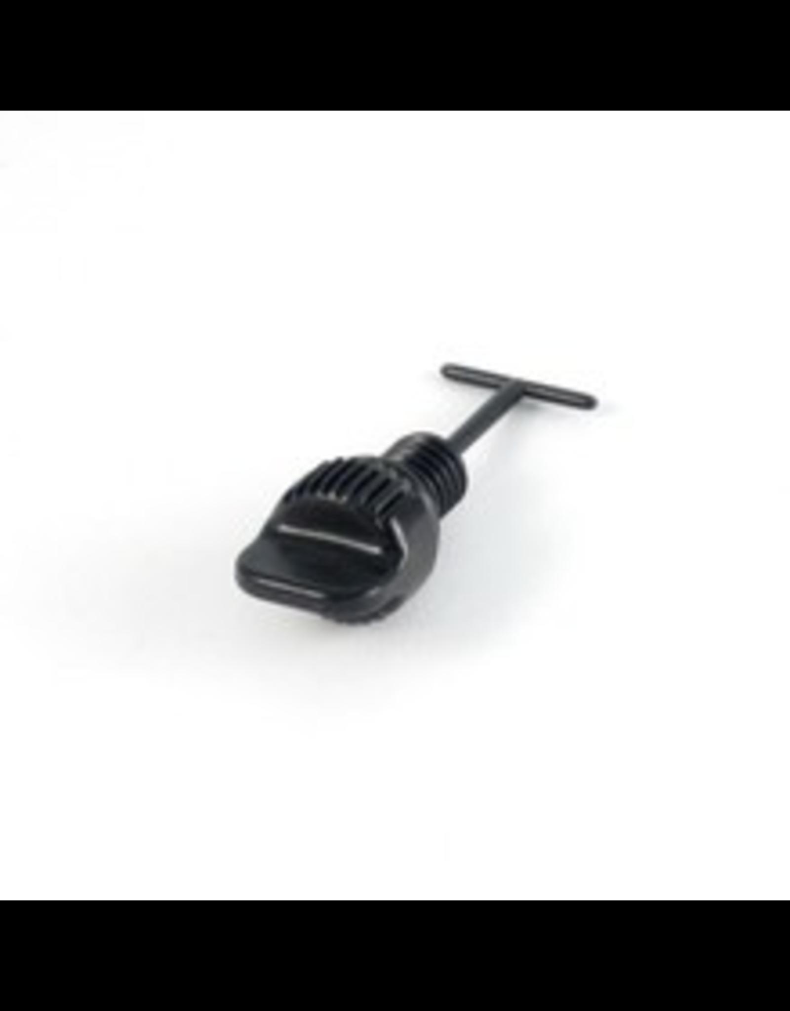 """Hobie Hobie Drain Plug with O-Ring and Keeper - 3/8"""", X-32"""