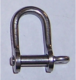 Hobie Hobie Standard D Shackle, 4.7MM, X-38
