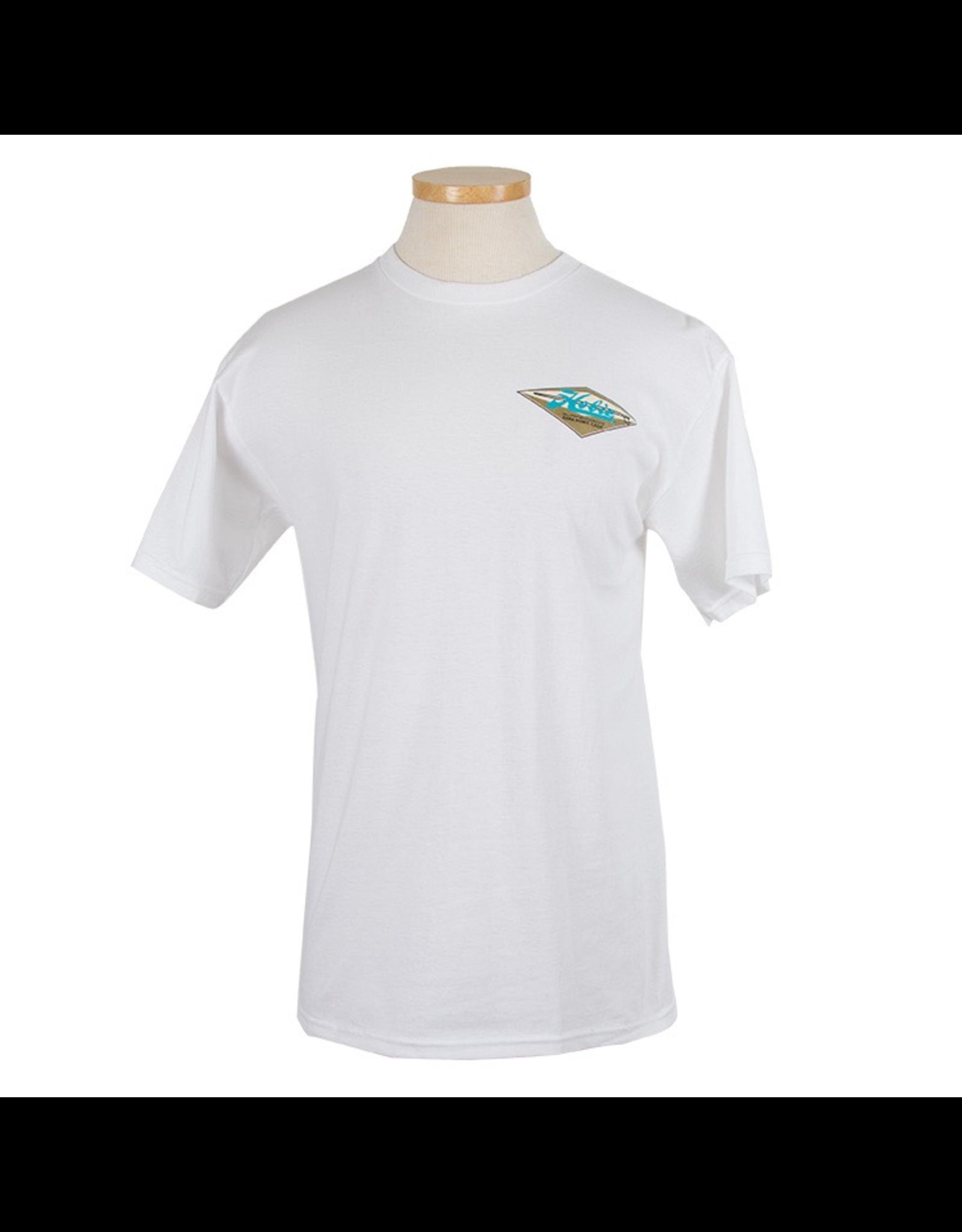 Hobie Hobie Classic White T-shirt, Short Sleeve, Diamond
