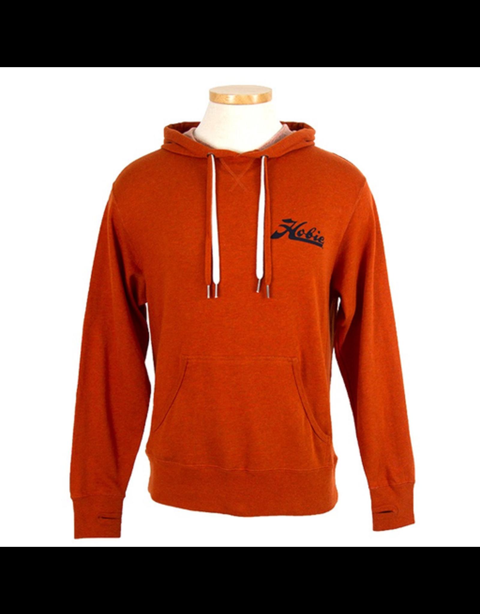 Hobie Hobie Burnt Orange Pull-over Hoodie, Unisex, Hobie Script Logo,
