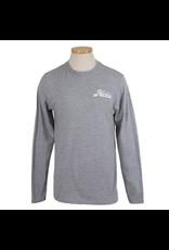 Hobie Hobie Grey T-Shirt, Long Sleeve, Hobie Script Logo