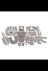 Hobie Hobie Mat Kit for Hobie Pro Angler 14 - Gray/Charcoal