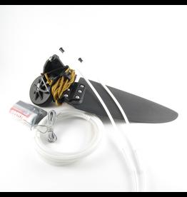 Hobie Quest 11 Kayak Rudder Kit, Twist-N-Stow