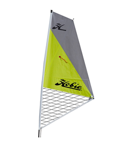 Hobie Sail Kit for Hobie Kayaks Silver over Chartreuse