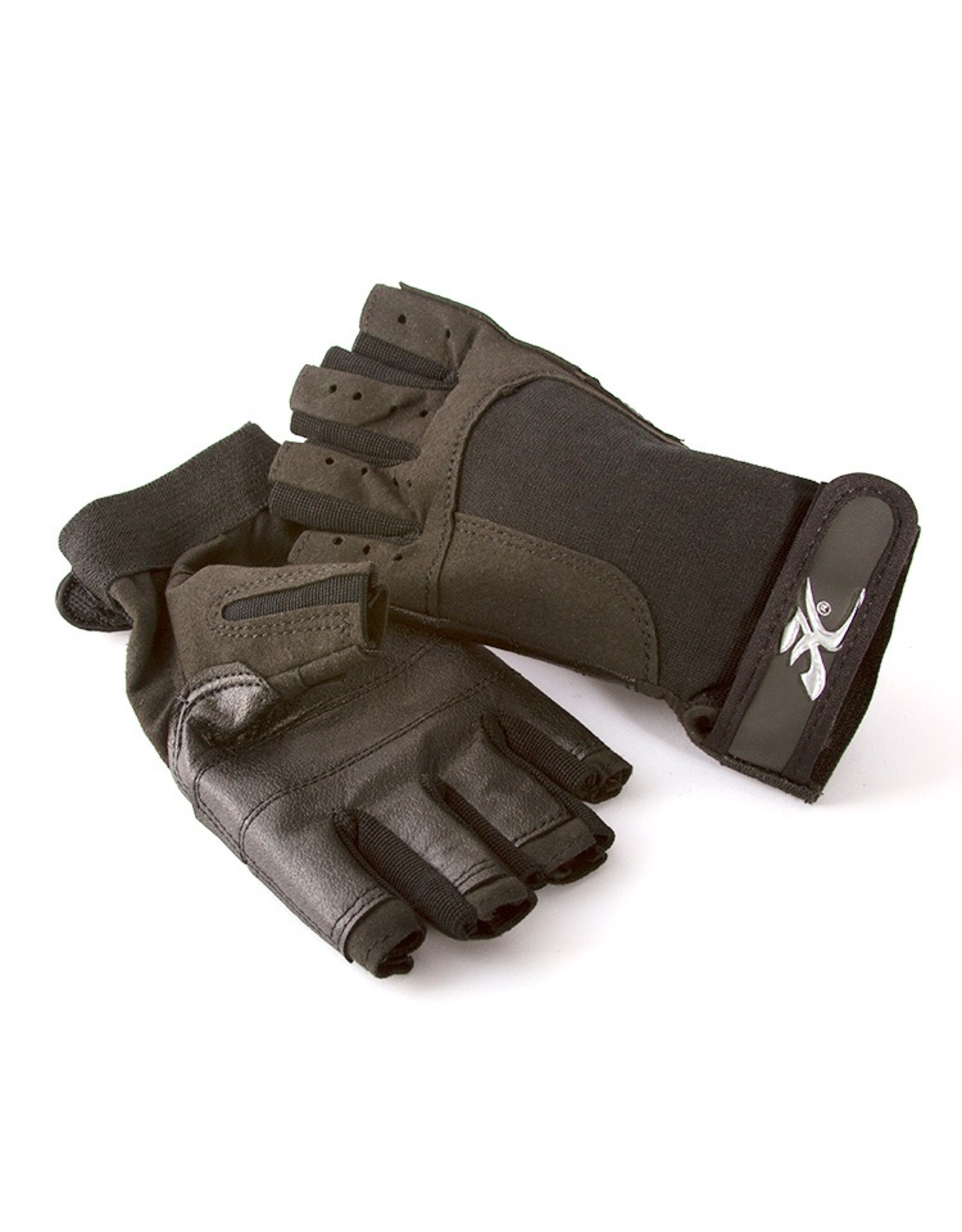 Hobie Hobie Paddleing/Sailing Gloves, Fingerless, Black, XL