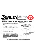 BerleyPro BerleyPro Raymarine RV-100 Ready Transducer Mount - BP2609