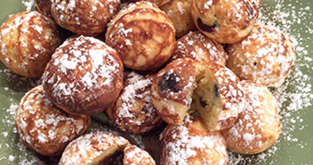 Ebelskivers - Filled Danish Pancake Balls