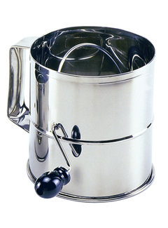 Norpro 8 Cup Flour Sifter - Stainless Steel