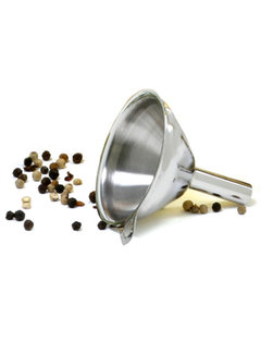 "Norpro Mini 2"" Funnel - Stainless Steel"