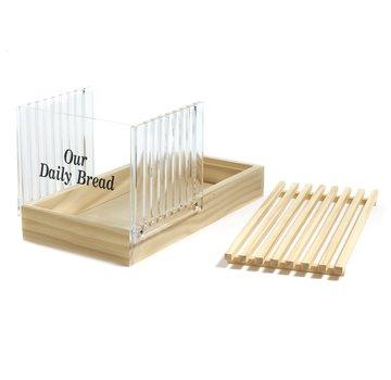Norpro Deluxe Bread Slicer W/Crumb Catcher