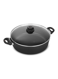 "Swiss Diamond XD Braiser with Lid - 12.5"" (32 cm), 7.2 QT (6.8 L)"