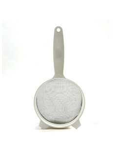 "Norpro 6"" Strainer - Plastic W/Stainless Steel Mesh"