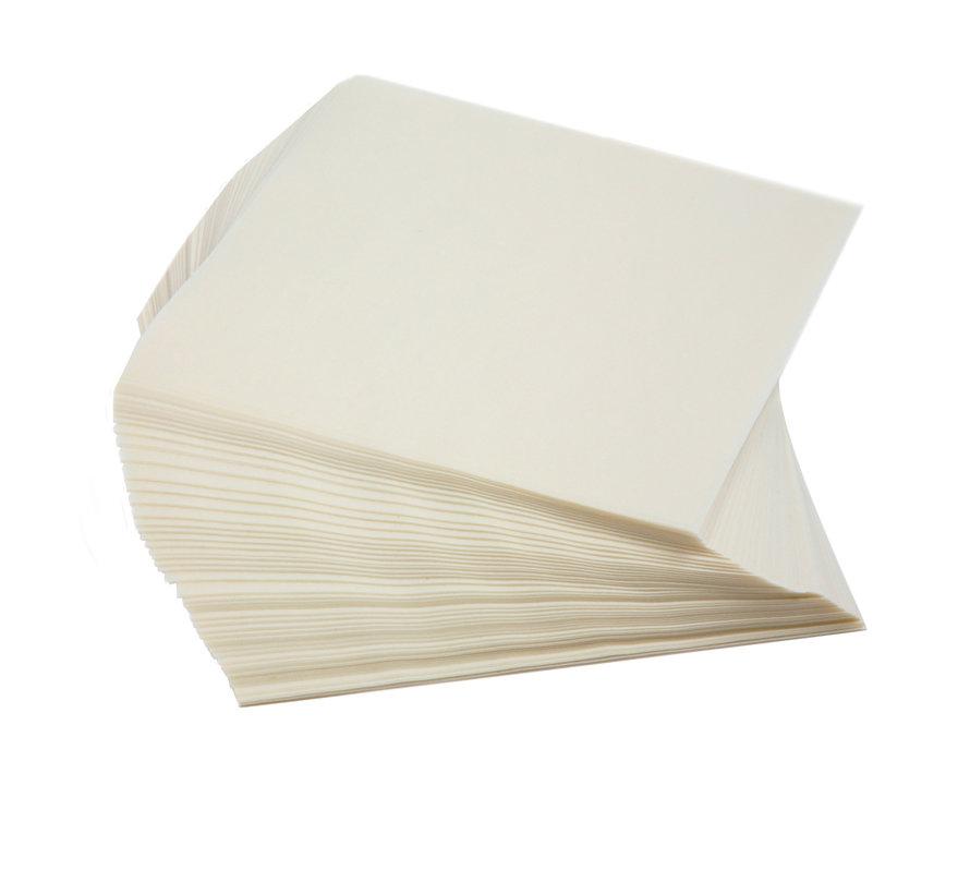 """6"""" Wax Paper Squares, 250 Pcs"""