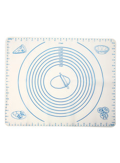 Norpro Silicone Pastry Mat With Measurements