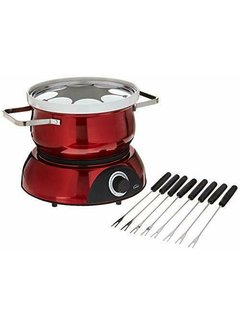 Trudeau Scarlet 3-IN-1 Electric Fondue Set 13 Pc Reg.129.99