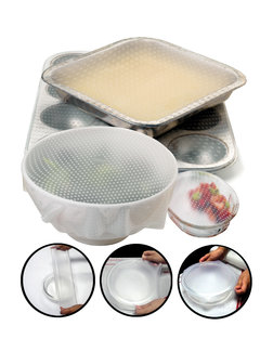 Norpro Sili-Stretch Bowl Covers, 2PCS